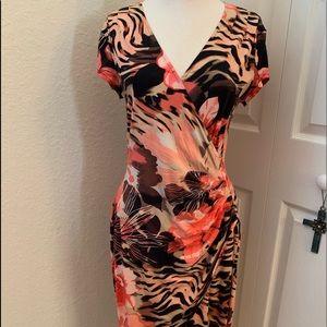 Cache Wrap Dress - Size L